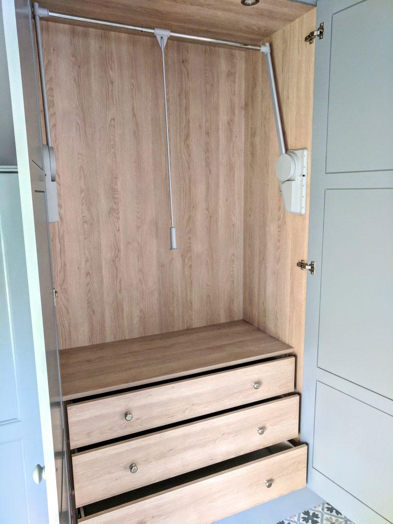Internal wardrobe design | Beth Barker Designs
